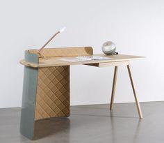 Elegante escritorio Big Boss de Piergil Fourquié. Decoración del hogar.
