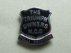 【The Triumph Owners M.C.C】ピンバッジ