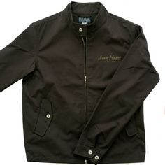 "IHJ-10 - Iron Heart Light/Medium Weight Cotton Ventile ""Harrington"" Style Windbreaker"