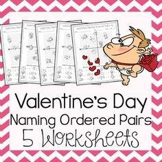 Valentine S Day Math Activity Plotting Points Mystery Picture