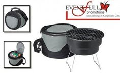 Braai on the go with your fantastically convenient, Portable Braai Stand and Cooler set plus BONUS for only R299, compliments of EventFull Promotions! FREE DELIVERY INCLUDED, valued at R739 | Daddy's Deals with love from kulula.com