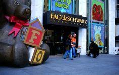 Christmas in New York: FAO Schwarz