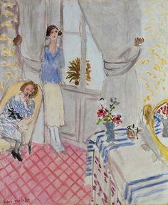 Henri Matisse - Le Boudoir, 1921 at Musée de l& Paris France Henri Matisse, Matisse Kunst, Matisse Art, Matisse Paintings, Paintings I Love, Beautiful Paintings, Indian Paintings, Raoul Dufy, Matisse Pinturas