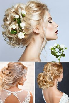 Wedding Hair Idea - The Prettiest Style To Work On Your Wedding Day. Take A Look At Our Website Online For More Important Information.