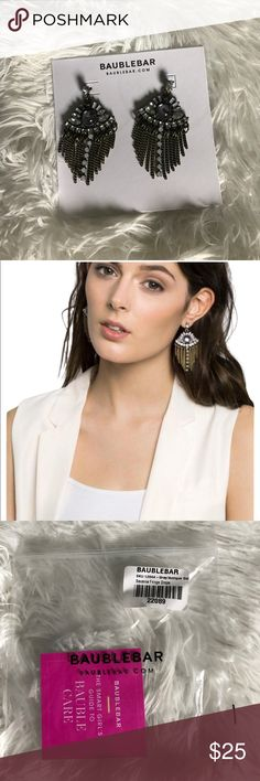"Baublebar Savanna Fringe Drops NWT. About 2 1/2"" drop length. baublebar Jewelry Earrings"