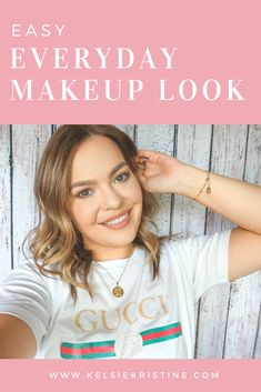My Updated EveryDay Makeup Routine + Tutorial - Kelsie Kristine - 16 makeup Everyday beauty secrets ideas Korean Beauty Tips, Beauty Tips For Face, Beauty Hacks, Beauty Secrets, Diy Beauty, Simple Everyday Makeup, Everyday Beauty Routine, How To Apply Makeup, Makeup Tips