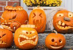 Halloween Pumpkin Carving Templates - 20 ideas to print Disney Halloween, Halloween Party Decor, Spirit Halloween, Holidays Halloween, Scary Halloween, Halloween Pumpkins, Halloween Crafts, Happy Halloween, Halloween Humor