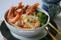Kuey Teow Kungfu | Resipi Citarasawan
