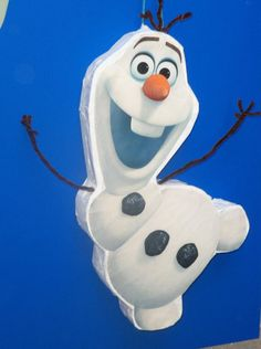 Frozen's Olaf Pinata party Cute Look BIRTHDAY