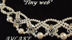 (Tutorial) Dream Wedding Necklace Set PART 2 (Video 59) - YouTube