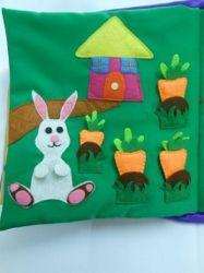 rabbit page in Garden Book