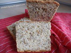 Smak Słodyczy: chleb z pestkami (najprostszy na świecie chleb dom...
