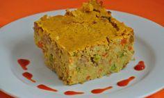 Zapečené jáhly se zeleninou a tempehem Tempeh, Quiche, Muffin, Breakfast, Food, Meal, Eten, Quiches, Meals
