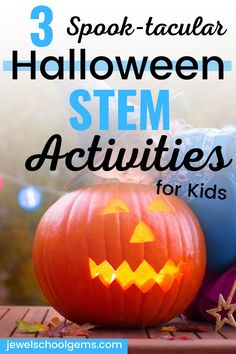 3 SPOOK-TACULAR HALLOWEEN STEM CHALLENGES FOR THE ELEMENTARY CLASSROOM by Jewel's School Gems | This blog post features three spook-tacular Halloween STEM activities that you can do with your class. I promise these are so much fun, your kids won't even miss the sweets! Get your students designing and building a haunted house, a snake roller coaster, or a spider web. Click to read TODAY!