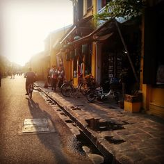 Hoi An, Vietnam Borrow a bike and go explore, it's the best way to experience the city and an easy way to avoid the shopkeepers constant harassment on the streets!