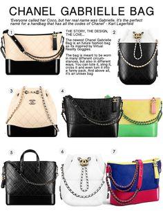 e8066ff65213 Chanel Gabrielle Bag Chanel Backpack, Chanel Purse, Chanel Shoes, Chanel  Handbags, Purses