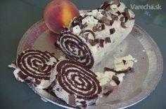 Recept na túto roládu som objavil v jednej starej anglickej knihe na dezerty,vyzerala velmi elegantne, tak som sa rozhodol že ju skúsim upiecť... Cake Roll Recipes, Dessert Cake Recipes, Sweet Desserts, Slovak Recipes, Russian Recipes, Fondant Flower Cake, Fondant Cakes, Fondant Bow, Fondant Tutorial