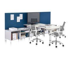 Canvas Office Landscape by Herman Miller   Desking systems