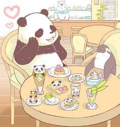 Pandas! So many pandas!!!