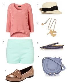I really like this outfit for spring!!