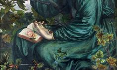 pintura de Dante Gabriel Rossetti,