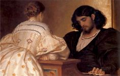 The Painter's Honeymoon - Frederic Leighton - WikiArt.org