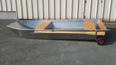 Barque de type 3600g Bateau alu