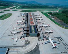 Flughafen Zurich Switzerland Flughafen Zurich Zurich Luftaufnahme