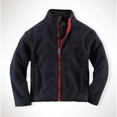 Ralph Lauren Children Boys 2T-4T Microfleece Jacket #VonMaur