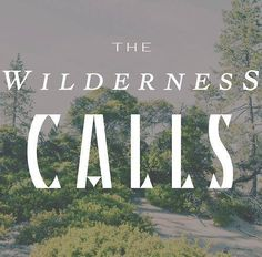 The Wilderness Calls #camping