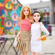 Two of a kind! Tag your partner in style.   #barbie #barbiestyle