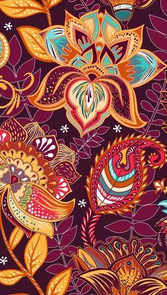 Mandala Wallpaper, Flower Wallpaper, Pattern Wallpaper, Wallpaper Backgrounds, Nice Wallpapers, Phone Backgrounds, Mandala Art, Whats Wallpaper, Paisley Art