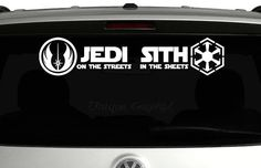 Jedi on the streets Sith in the sheets vinyl by UniqueGraphix