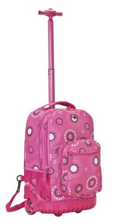 Rockland Luggage 19 Inch Rolling Backpack Printed for only $44.46 You save: $75.54 (63%)