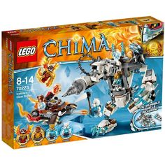 F/S Brand New LEGO Legends of Chima Icebite's Claw Driller 70223 Japan Import #LEGO