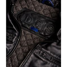 Superdry Leading Leather Biker Jacket