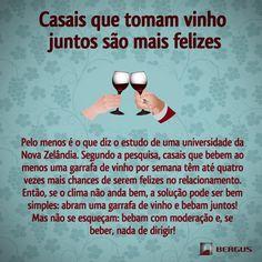 Parejas que toman vino juntos son más felices