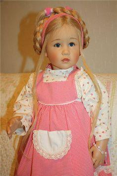 Милая девочка Jette, от моего любимого автора Sissel Bjorstad Skille / Коллекционные куклы Sissel Bjorstadt Skille / Бэйбики. Куклы фото. Одежда для кукол