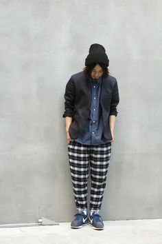 CHECK ANKLE EASY PANTS... PRICE : ¥19,000- ( + TAX )
