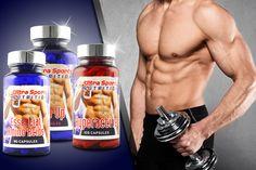 3pc Workout Supplements Bundle