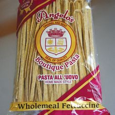 Angelo's Fresh Pasta Products | Wholemeal Fettuccine