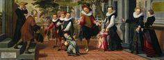 Rijke kinderen, arme ouders, Aert Pietersz., Pieter Pietersz. (I), 1599