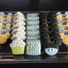 baby mickey cake cookies
