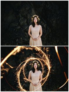 Sparklers Photoshop Overlays Long Exposure Layers by sRGB