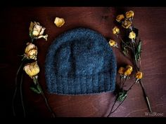 Вяжем классическую мужскую шапку ♥ Вяжем спицами ♥ Wild Rose ♥ - YouTube