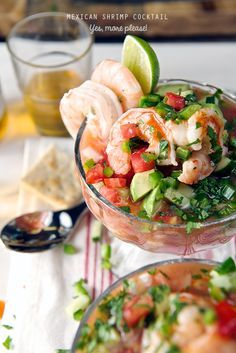"Hold your horses! Hide the children! What you are about to see is food rated ""R"" at its best! My Mexican Shrimp Cocktail is to die for. Fresh, delicious, and savory; it's the perfect simple light m..."