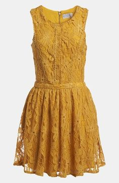Lucca Couture Button Front Dress available at #Nordstrom love this dress but why mustard?? wish it was green!
