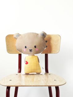 Little bear soft toy - Miss Rose - By Red Hand Gang