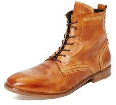 H by Hudson Lennon Calf Lace Up Boots