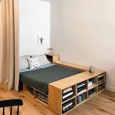 Check out some easy and simple small bedroom ideas for your ultimate reference! Just choose the best bedroom decor that you really love now! Home Bedroom, Bedroom Decor, Bedroom Ideas, Bed Ideas, Bedroom Workspace, Bedroom Hacks, Extra Bedroom, Nursery Decor, Diy Casa
